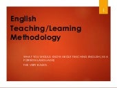ESL Methodology