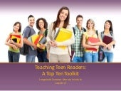 Teaching teen readers[1]_Longwood S...