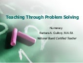 Teaching Through Problem Solving[1]