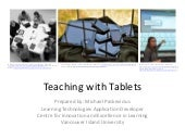 Teaching with Tablet Computers