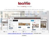 Teamie Social & Mobile Training Platform