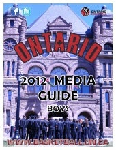 Team Ontario Media Guide 2012