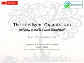 Building Intelligent Organizations ...