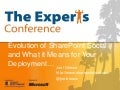 SharePoint 2010 TEC Keynote - Social Evolution in SharePoint - Los Angeles