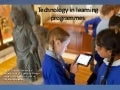Technology in Learning Programmes