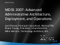 SharePoint Advanced Administration with Joel Oleson, Shane Young and Mike Watson