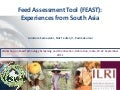 Feed Assessment Tool (FEAST): Experiences from South Asia