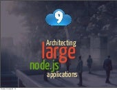 Architecting large Node.js applications
