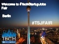 TechMeetups presenting at TechStartupJobs Fair Berlin Spring 2015
