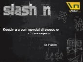 Slash n: Technical Session 6 - Keep...