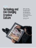 Technology and The Changing Creative Culture
