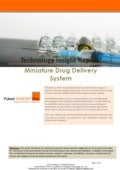 Miniature Drug Delivery System Patent Search and Analysis Report