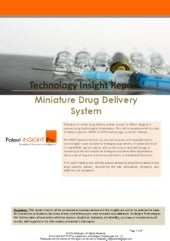 Miniature Drug Delivery System Pate...