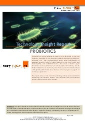 Technology Insight Report: Probiotics