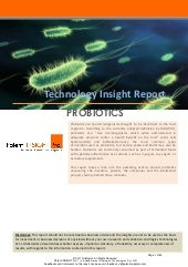 Technology Insight Report - Probiotics