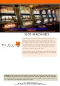 Technology Insight Report: Slot Machines