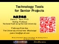 Technology tools for senior projects