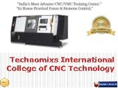 CNC Training Center In Pune - Technomixs International College of CNC Technology
