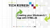 Microsoft PT TechRefresh html win8.1