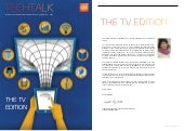 TechTalk: The TV Edition