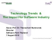 Technology Trends & The Impact for ...