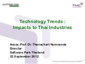 Technology Trends : Impacts to Thai...