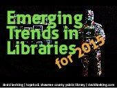 Emerging Trends in Libraries for 2015
