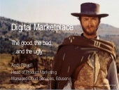Digital Marketplace/G-Cloud - the good, the bad and the ugly