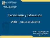 Tecnologa educativa