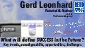 Future Success: TedX Beausoleil Gerd Leonhard Futurist Speaker
