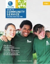 TeenLife 2011 Guide to Community Se...