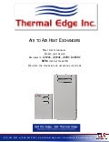 Thermal Edge A2A Heat Exchangers Brochure 2014
