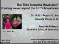 Creating Value Beyond the Firm's Boundaries: Networks, Social Media, and Virtual Worlds