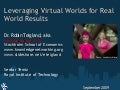 Virtual Worlds and Entrepreneurship _Teigland