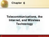 Telecommunications, the internet, a...