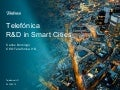 Telefonica R&D in Smart Cities