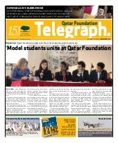 Qatar Foundation Telegraph dec2