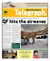 Qatar Foundation Telegraph jan27