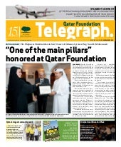 Qatar Foundation Telegraph nov21