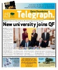 Qatar Foundation Telegraph nov4