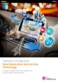 Telematics and Big Data: Next Generation Automotive Technology