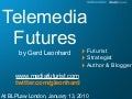 TeleMedia Futures: the next 5 years in Media, Content and Telecom
