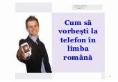 Telephoning in Romanian