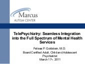 Tele psychiatry