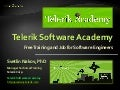 Telerik Software Academy - Info Day - August 2012
