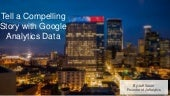 Telling a story with Google Analytics data - MnSearch Summit 2015