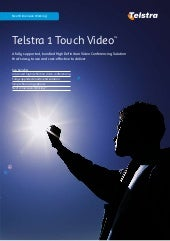 Telstra 1 Touch Video