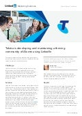 Telstra Alumni Case Study: Using LinkedIn to develop and maintain a thriving community of Alumni