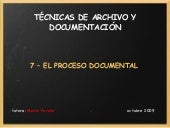 Tema 7-TAD- El proceso documental