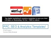 Top Digital Marketing & Analytics Templates to save you time!